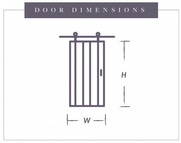 door dimensions graph