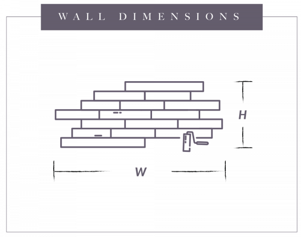 wall dimensions graph