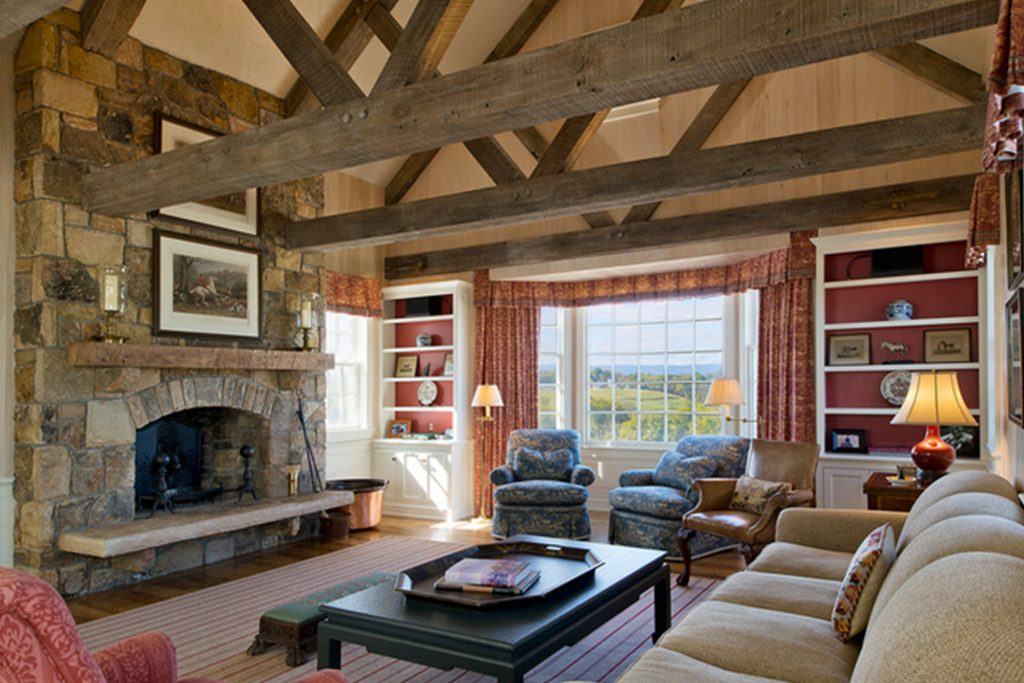 Image of Reclaimed Beams Epstein Trusses