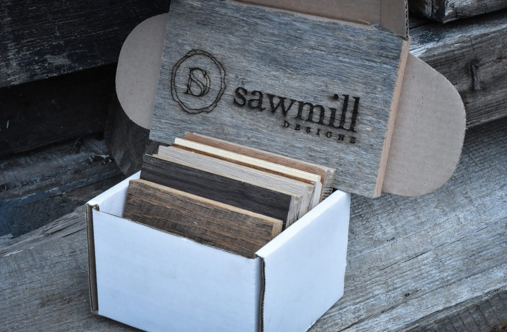 Image of Sample box from Sawmill Designs