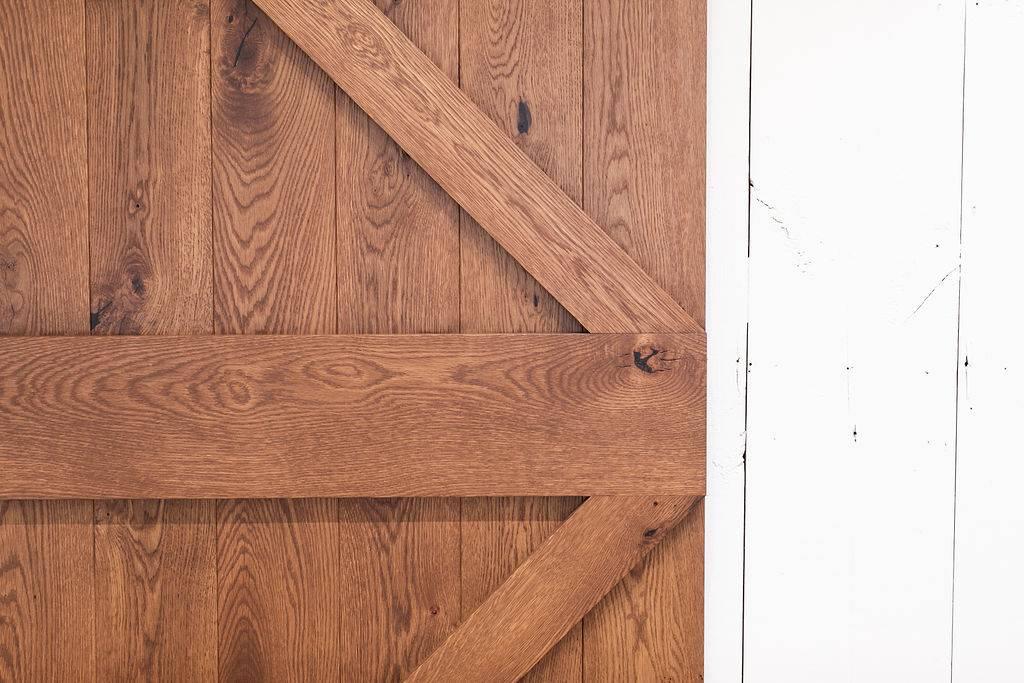 image of sliding barn doors character details