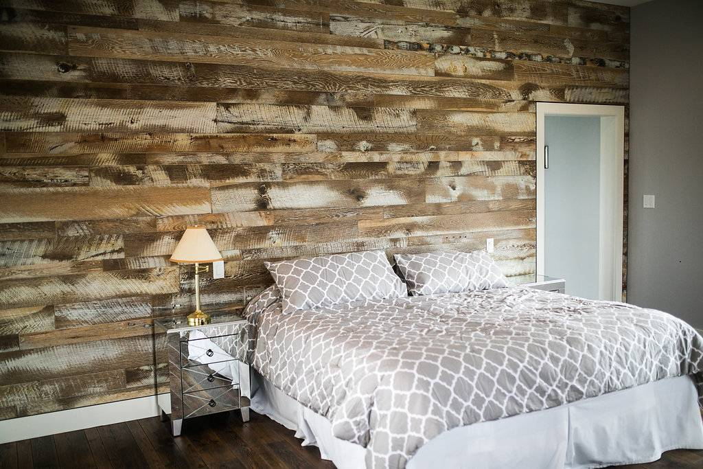 Image Shades of Sand Color Wood Wall Siding