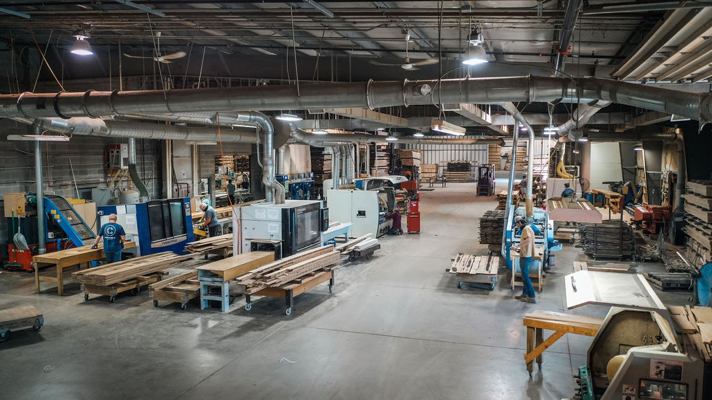 Expanded Production line at Sawmill Designs