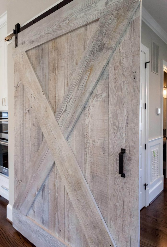 Custom Sized Sliding Barn Doors by Sawmill Designs