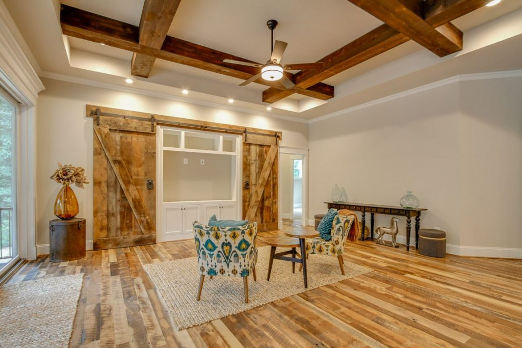 Image of Barn Doors and Beams by Sawmill Designs